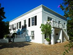Guest House - Maison Chablis, #Franschhoek. Tranquil Georgian-style boutique Bed & Breakfast in the heart of a dream-destination.