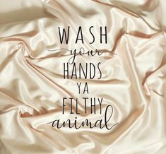 Wash Your Hands SVG - Digital Cut File For Cricut, Silhouette ect- For Personal and Small Commercial Use Wash Your Hands You Filthy Animal Clear Labels, Filthy Animal, Diy Wood Signs, Kind Words, Svg Cuts, Digital Image, Cricut Design, Cutting Files, Stencil