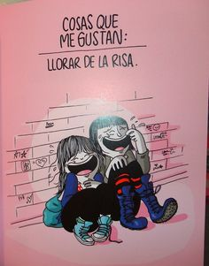 Agustina Guerrero Girly Quotes, Me Quotes, Catana Comics, Great Minds Think Alike, Motivational Phrases, I Love To Laugh, Drawing For Kids, Some Words, I Love Books