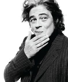 Benicio Del Toro. Photographed by David Raccuglia
