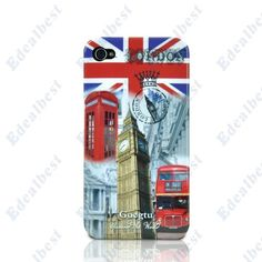 $7.26 British Bell Tower Case for iPhone 4 4S with Slim Back Cover Edealbest.com
