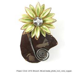 Flower Child 2010 - Brooch