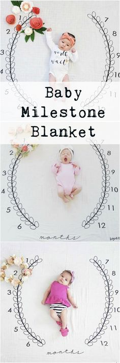 It is the perfect background for the precious pictures you take each month in the first year of their life as your baby grows. You can add your own accents each month, as well as adding their favorite toys, blankets, binkies and more to show what they love at each stage in their first year. aff