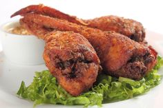 From a cult Korean wings spot featuring exquisitely crispy fried chicken to elegant confit deboned wings from genius chef José Andrés, F&W names America's best chicken wings. Find out of your favorites made the list, or try a new recipe at home. Crispy Fried Chicken, Tandoori Chicken, Asian Chicken, Baked Chicken, Wine Recipes, Cooking Recipes, What's Cooking, Cooking Ideas, Duck Sauce
