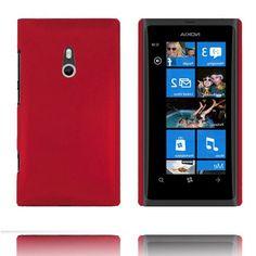 Hard Shell (Rød) Nokia Lumia 800 Deksel