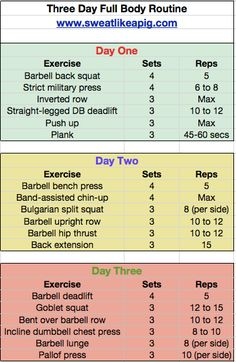 printable workouts for women  full body workout routine