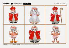De kledij van Sinterklaas.