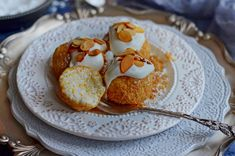 Habkönnyű, légies... Panna Cotta, Cupcake, Muffin, Pasta, Breakfast, Ethnic Recipes, Food, Morning Coffee, Dulce De Leche