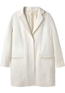 Cotton Cocoon Coat