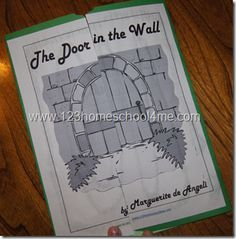 The Door in the Wall Literature Based Study Guide and Lapbook homeschool printable