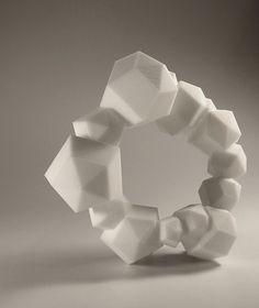 Arthur Hash: bracelet, 2008. ABS plastic modeled in Rhino3D