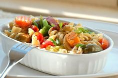 Perfect Pasta Salad:. Photo by Andi of Longmeadow Farm