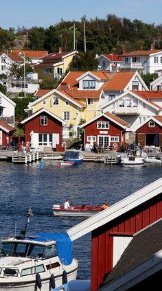 Fiskebäckskil, Bohuslän, Sweden