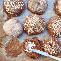 Teff-frallor naturligt glutenfritt
