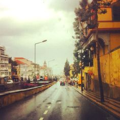 Raining in FUNCHAL ☔