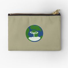 'Earth' Zipper Pouch by JibbJab Transparent Stickers, Iphone Wallet, Gifts For Family, Zipper Pouch, Simple Designs, Coin Purse, Earth, Printed, Awesome
