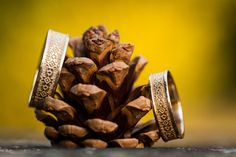 Autumn gold / Wedding rings