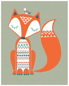 *Helen Robin* #disegnibambini- would love this on a cushion