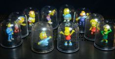 2002 The Simpsons Collectible TOMY TYC Mini Capsule Dome Figures x 10 Thomas And Friends, The Simpsons, Action Figures, Pokemon, Hobbies, Mini, Vintage, Collection, Tomy