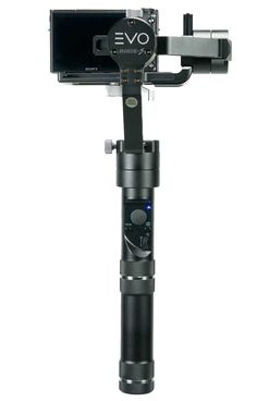 EVO Rage-S gimbal for compact mirroless cameras Backside Controls