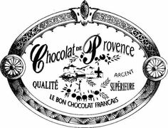 Chocolat French Typography, Vintage Typography, Vintage Labels, Vintage Ephemera, Printable Labels, Printable Art, Diy Image, Collages D'images, Etiquette Vintage