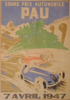 'Grand Prix Automobile, Pau', 1947