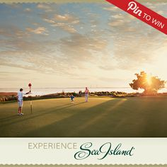 #ExperienceSeaIsland Golf at Sea Island – home to three championship courses, the PGA TOUR's McGladrey Classic, more than 10 PGA pros and the #1 resort in the continental U.S.! www.seaisland.com