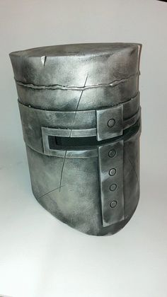 Shop for mask on Etsy, the place to express your creativity through the buying and selling of handmade and vintage goods. Cosplay Armor, Cosplay Diy, Cool Costumes, Cosplay Costumes, Dark Souls Solaire, Crusader Helmet, Foam Armor, Make A Character, Armor All