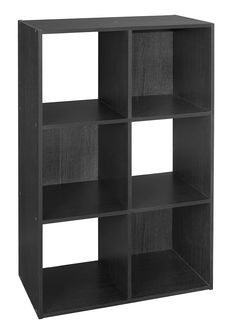 systembuild 36 in x 36 in black ebony ash 9 cube storage organizer 7642026p the home depot. Black Bedroom Furniture Sets. Home Design Ideas
