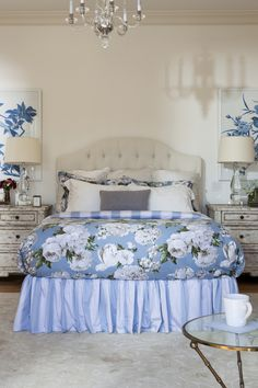 One more yrs strong- Houzz TOP LA Designer Blue and White Master Bedroom in a Transitional Home Furniture, Room, Transitional House, Los Angeles Interior Design, Best Interior Design, Celebrity Interior Design, Home Decor, White Master Bedroom, Interior Design