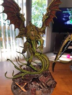 Hobbies For Seniors Warhammer Paint, Warhammer 40k Art, Warhammer 40k Miniatures, Warhammer 40k Tyranids, Lovecraft Cthulhu, Call Of Cthulhu, Fantasy Miniatures, Paint Schemes, Miniture Things