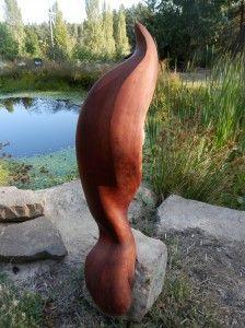 Red Cedar sculpture