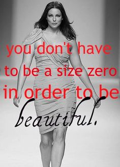 Beautiful is yours to define. [via Susan Urbanczyk] Beautiful Curves, Big And Beautiful, Beautiful Women, Size Zero, Plus Size Beauty, Body Love, Real Women, Curvy Fashion, Skinny