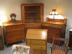 Always some great country furnishings and antiques!  www.robsageauctions.com