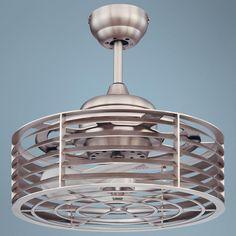 "14"" Savoy House Sea Side Satin Nickel Ceiling Fan -"
