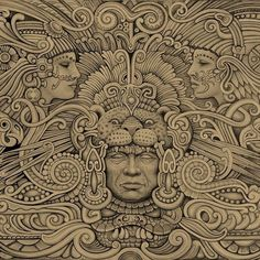 Discover recipes, home ideas, style inspiration and other ideas to try. Mayan Tattoos, Mexican Art Tattoos, 3d Tattoos, Polynesian Tattoos, Tattoo Ink, Aztec Warrior Tattoo, Warrior Tattoos, Aztec Tattoos Sleeve, Chicano Tattoos Sleeve