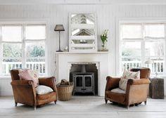 Shabby and Charme: Il vero shabby in un cottage sul mare impreziosito con i tessuti Cabbages and Roses…