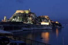A general view of Corfu's Old Fortress on February 2010 in Corfu, Greece. The Fortress which sits on a rocky outcrop was mostly built by the Vanetians in the century. Places To Travel, Travel Destinations, Corfu Greece, Chicago Tribune, 14th Century, See Picture, Exotic, February 5, Vacation