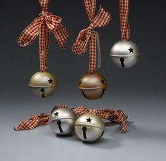 Brushed Metallic Jingle Bells