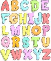 Risultati immagini per doodle lettering styles a-z bubble