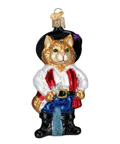 Look what I found on #zulily! Puss N' Boots Ornament by Old World Christmas #zulilyfinds