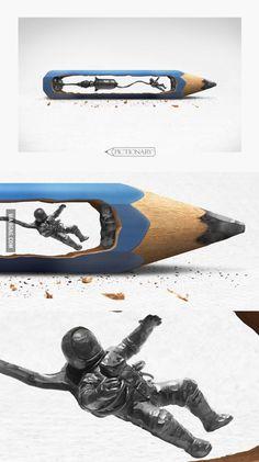 Amazing Pencil Art by Jota Julián Gutiérrez