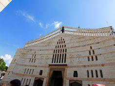Хороший блог о кино и музыке, а тк же путешествиях: Базилика Благовещенья в Назарете и река Иордан!