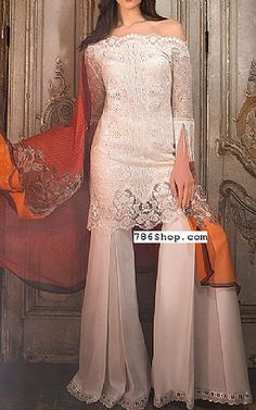 White Lawn Suit | Buy Sobia Nazir Dresses
