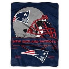 New England Patriots Fleece Blanket Throw 60x80