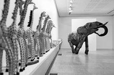 """SELF-MADE-ART"" BY Alpo Koivumäki Make Art, Finland, Lion Sculpture, Statue, Animals, Animales, Animaux, Animal, Animais"