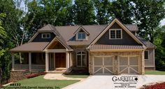 Breckenridge Cottage House Plan | House Plans by Garrell Associates, Inc