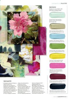 'Fawn' natural emulsion, £38 for 2.5 litres, Pots of Paint' Elle Decoration - June 2014 potsofpaint.com