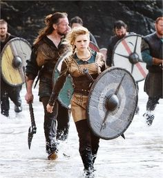 Lagertha Lothbrok - History Channel - VIKINGS