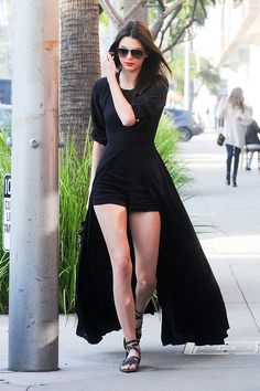 Kendall Jenner Sweeps the Streets in the New Look of Minimal Bohemianism